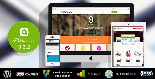 ThemeForest Alterna v9.6.6 – Ultra Multi-Purpose WordPress Theme