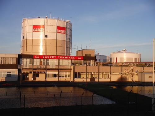 Calor Gas's LNG Terminal, Canvey Island