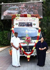 1. HQ Release - Vellore Dt Campaign Vehicle Received - 18th Jan 2016