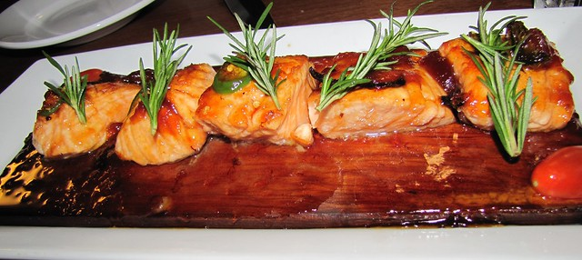 Wild Salmon at Scales Seafood & Steaks