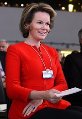 Queen Mathilde At The Opening Of The World Economic Forum In Davos