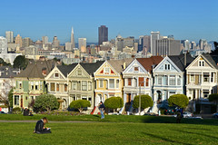 Seven Sisters (Painted Ladies) – San Francisco, CA