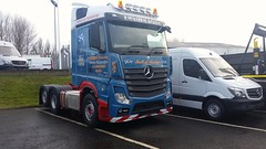 Caley Trucks Ayr. Awaiting delivery.