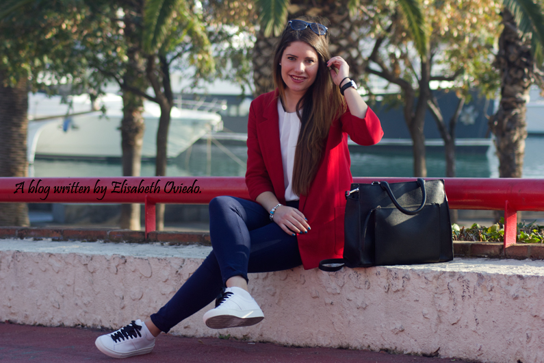 chaqueta roja ZARA deportivas massimo dutti HEELSANDROSES (4)