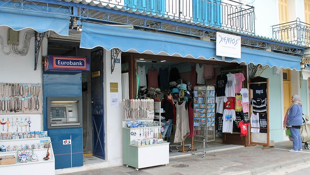 souvenir shop Poros Greece