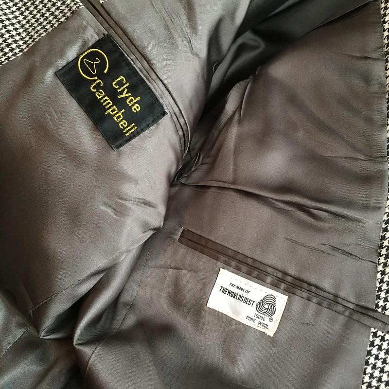 Houndstooth Messenger Bag - Before