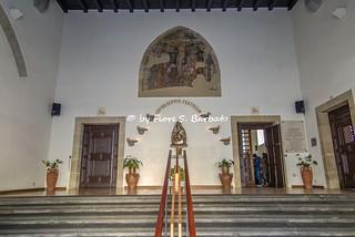 Image of Basilica di Santa Chiara. santa italy campania basilica convento napoli chiara affreschi affresco