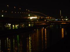 Ayase-gawa River at twilight