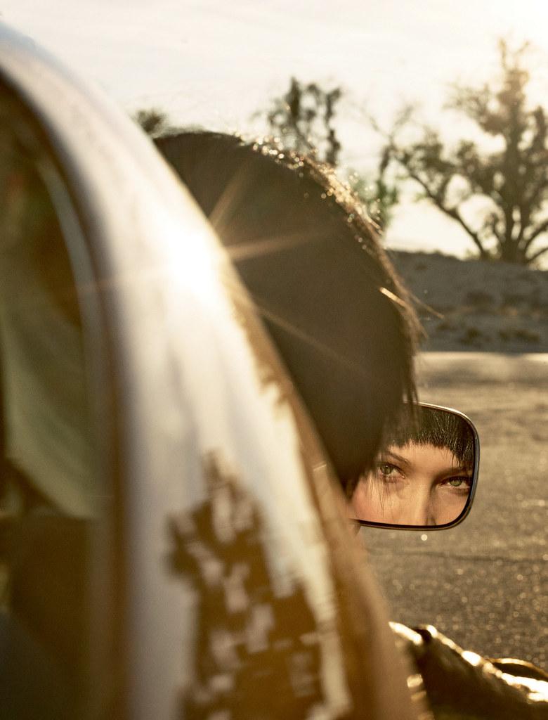 Белла Хадид — Фотосессия для «Love» 2016 – 2