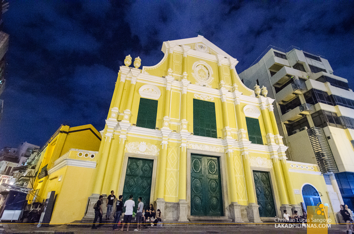 Unesco St. Dominic Church Macau China
