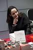 Julia Cagé en dédicace à la librairie des Assises