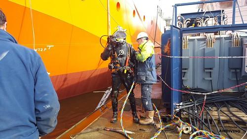 Inspectie van zeekasten