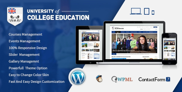 University v1.5 - Education Responsive WordPress Theme