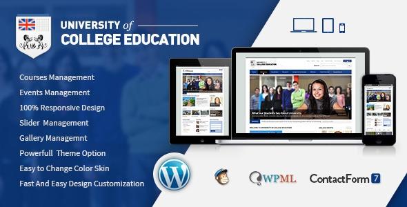 Themeforest University v1.2 - Education Responsive WordPress Theme