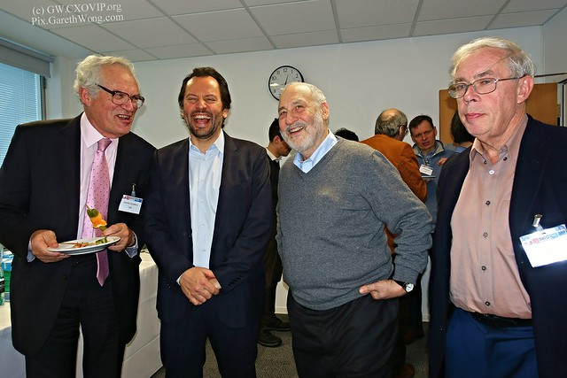 Prof Charles Goodhart,  Prof Luigi Zingales,  Prof Joseph E. Stiglitz, Prof John Kay from RAW _DSC4355