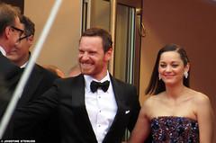 20150523_28 Michael Fassbender & Marion Cotillard (& David Thewlis? :) | The Cannes Film Festival 2015 | Cannes, France