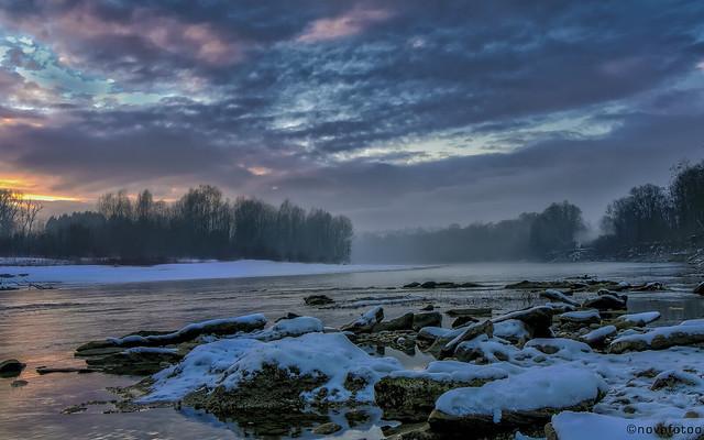 Im Fluss, Olympus E-M10MarkII, Lumix G Vario 14-140mm F3.5-5.6 Asph. Power OIS