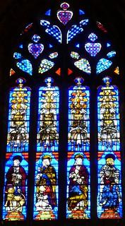 Image of Cathedral of Seville near Triana. españa sevilla andalucía spain gothic trafalgar stainedglass seville andalusia stainedglasswindows sevillecathedral catedraldesantamaríadelasede cathedralofsaintmaryofthesee trafalgarinsider spanishwonders