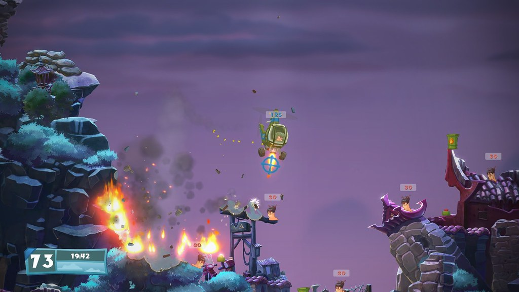 Worms W.M.D. on PS4