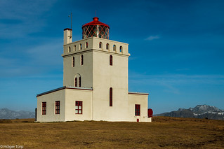 Lighthouse in Dyrhólaey
