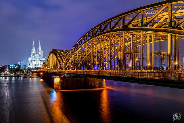 Eine Nacht in Köln