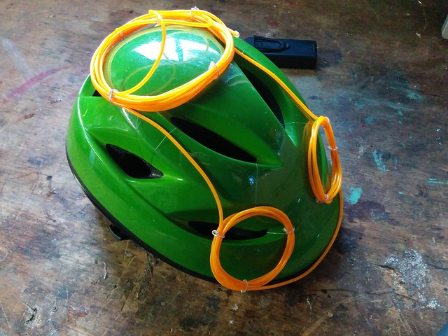 Green Helmet Unlit