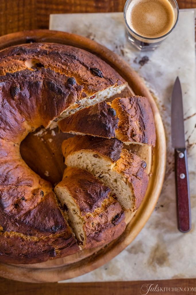 Il buccellato di lucca un pane dolce antico juls 39 kitchen for Dolci romani tipici