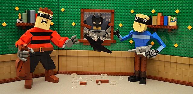 Enter the Bat