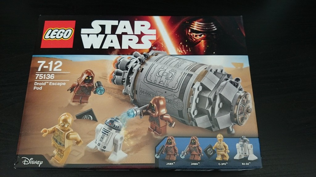 ThebrickReview: LEGO 75136 - (Star Wars) Droid Escape Pod (Pic Heavy!) 25816787601_8e02ca1636_b