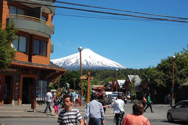 Views of Volcán Villarica, Pucón, Chile