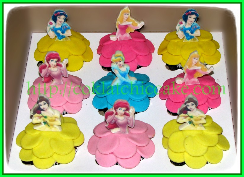 Cupcake Princess Disney
