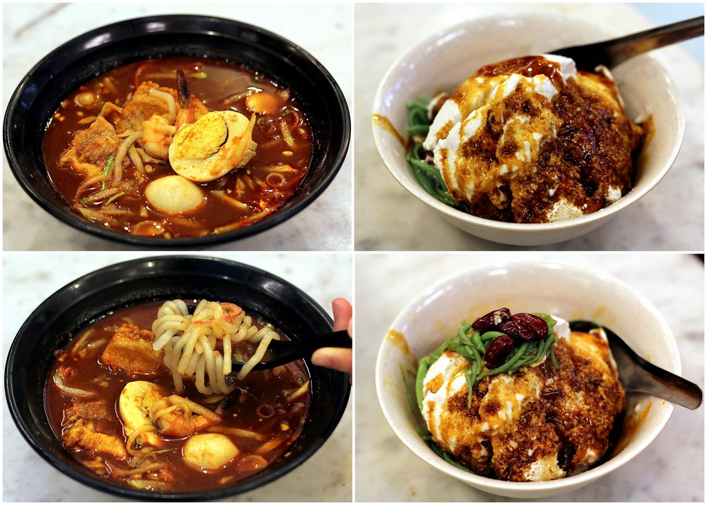 Malacca Food Guide: Jonker 88 Nyonya Laksa and Cendol
