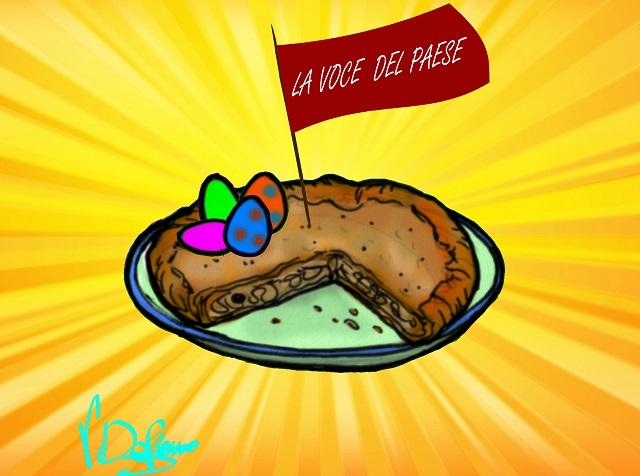 Noicattaro. Vignetta Pasqua 2016 intero