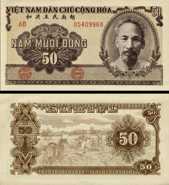 50 Dong Vietnam 1951, P61b