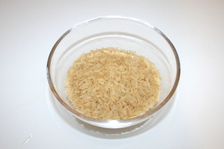 08 - Zutat Langkornreis / Ingredient long grain rice