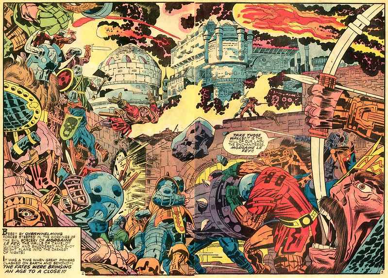 "Jack Kirby - Interior art from ""The Demon"" Issue 1, August:September 1972"