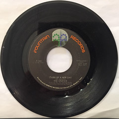 THE UNIFICTS:FUNKY THING(RECORD SIDE-B)