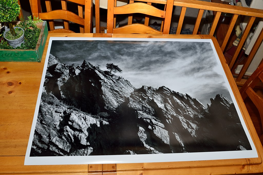 my first large format print general photography talk in