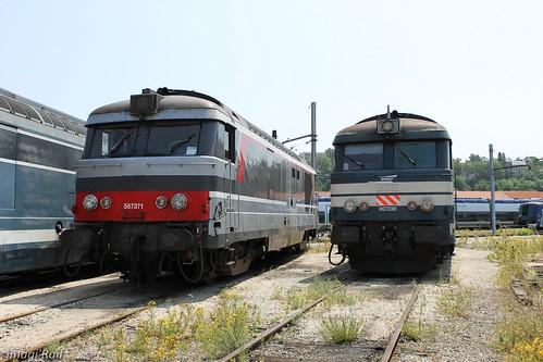 BB 67371 et BB 67230