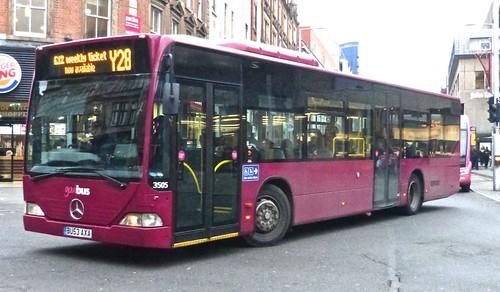'Scene' in Parliament Street (PS) in Nottingham 1 on Dennis  Basford's railsroadsrunways.blogspot.co.uk