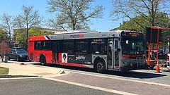 WMATA Metrobus 2006 New Flyer D40LFR #6200