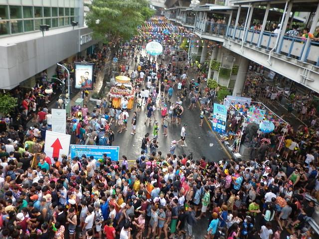 Songkran Bangkok Silom 9