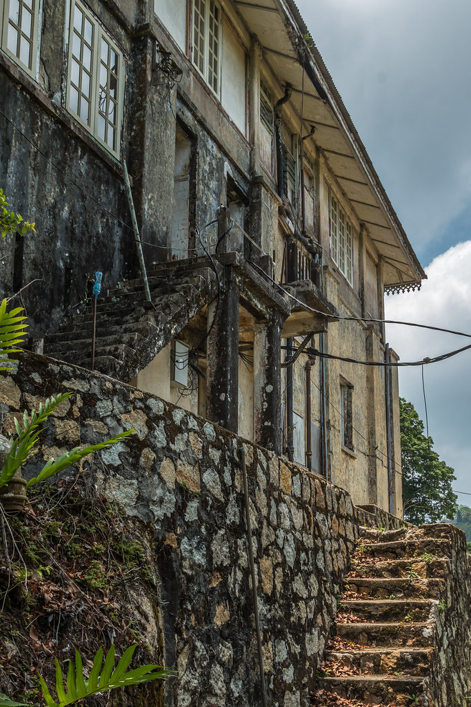 Abandoned International School of Penang / Crag Hotel
