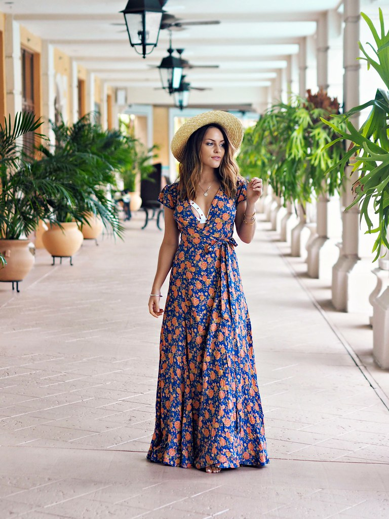 REVOLVE floral maxi dress the little magpie 11