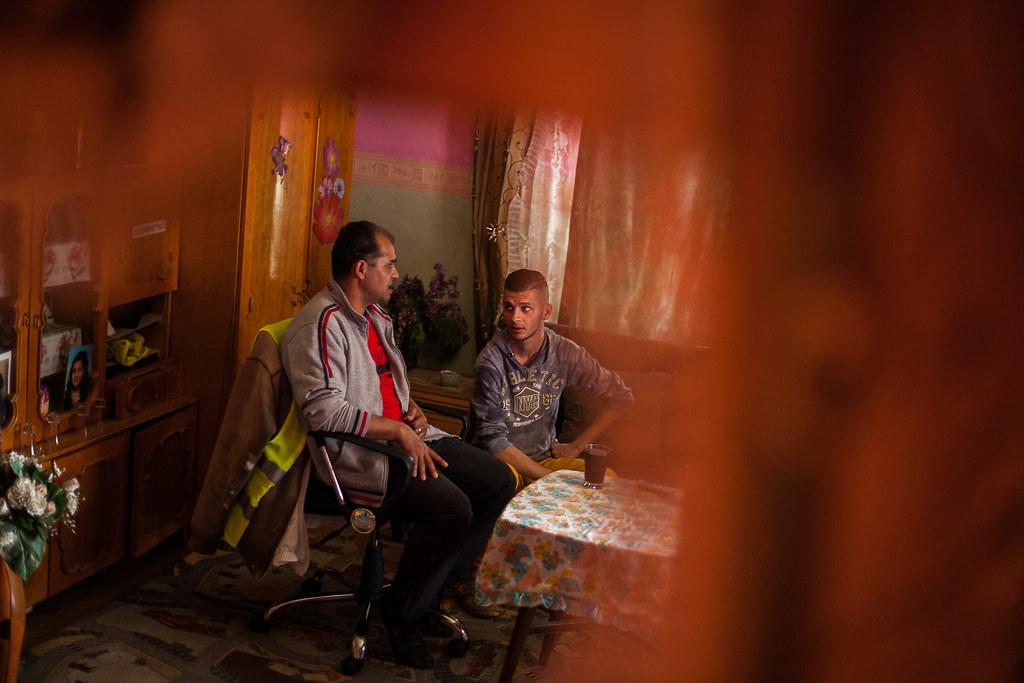 István és édesapja | Fotó: Magócsi Márton