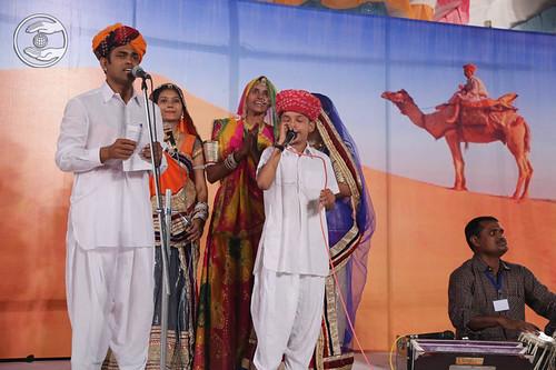 Devotional song by Raju Samwaroua from Barmer