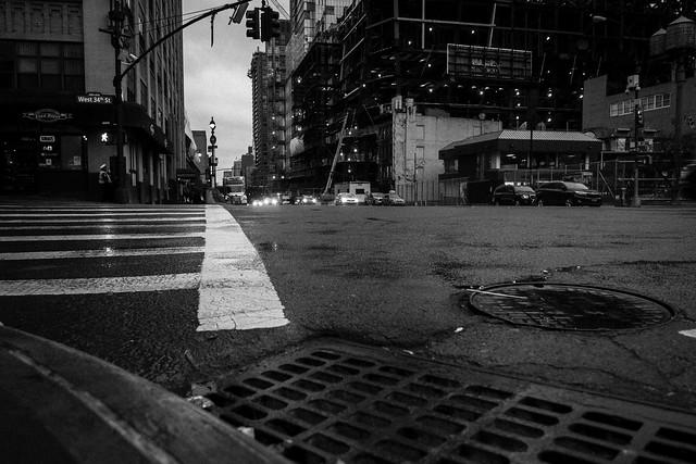 Corner side street