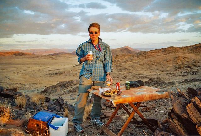 Sundowner im Namib Naukluft Park
