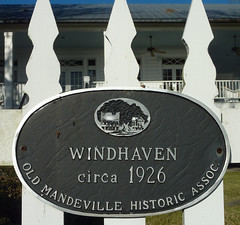 Photo of Windhaven black plaque