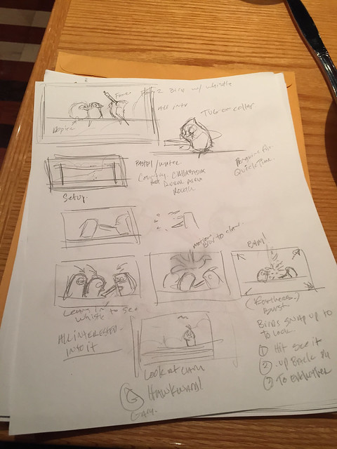 story sketches